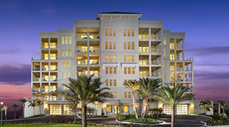 Mid-rise Condominiums for sale at Belleview Place